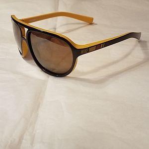 Nike Vintage 72 Sunglasses EV0597 073 Yellow Black